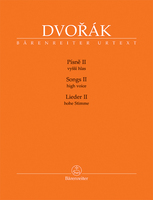 BA 11517_Dvorak_Pisne_II_cover_high voice